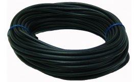 Wąż paliwowy czarny 2,5mm x 5,0mm - 15m