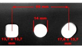 Ostrze kosiarki silnikowej NAC URSUS 51cm