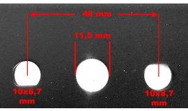 Ostrze kosiarki 41cm HORTMASZ JL43Z04-01 - JL43Z04-01