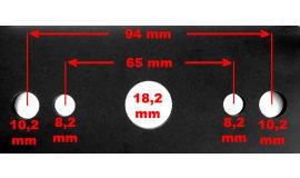Nóż do kosiarki silnikowej 42,5cm VIKING MB450 MB455 ME450 ME455 - 61037020102