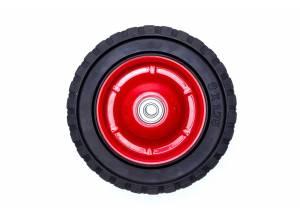 Koło uniwersalne 200mm - łożysko metalowe, opona gumowa